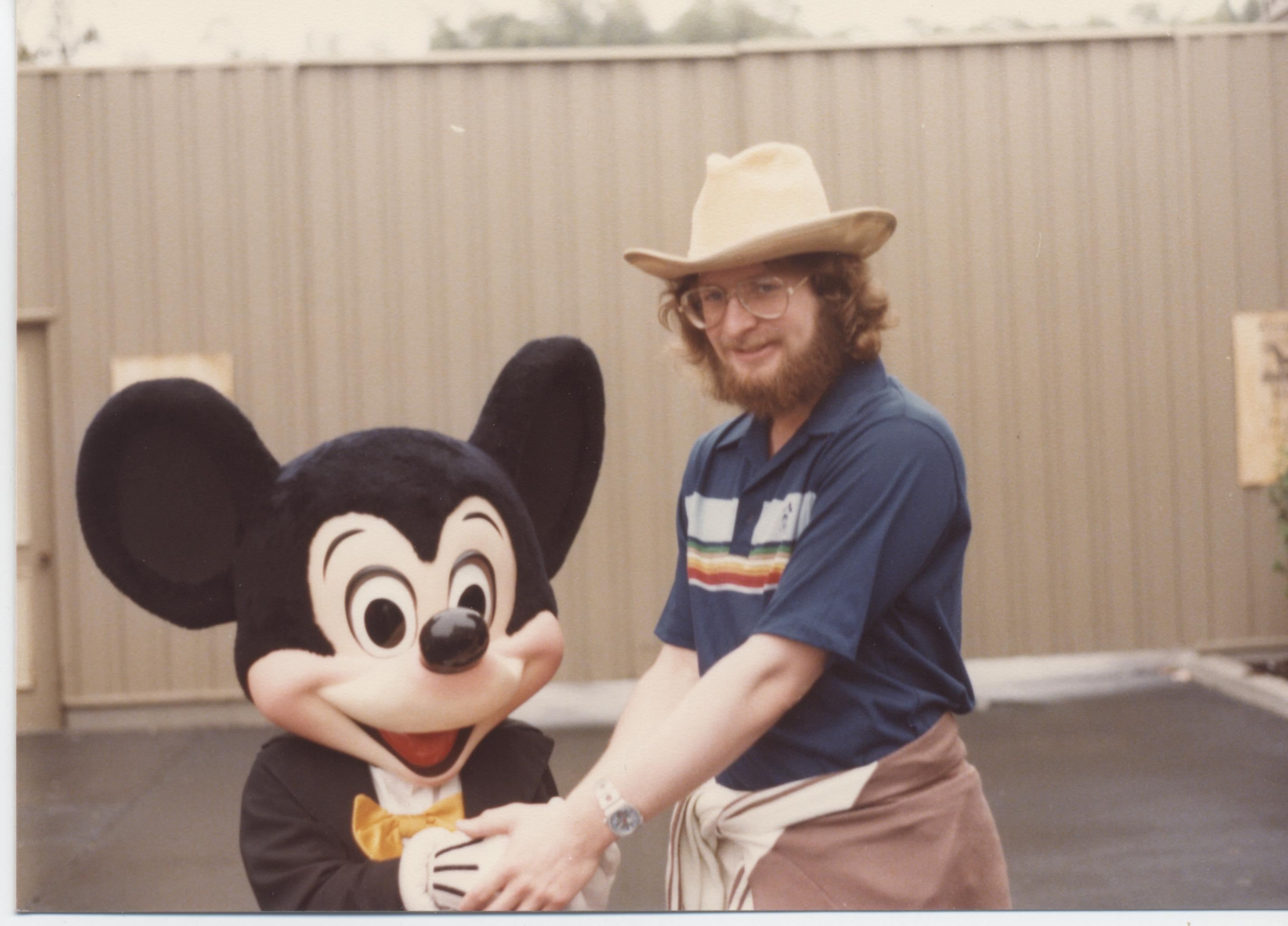 disney with the family  1980