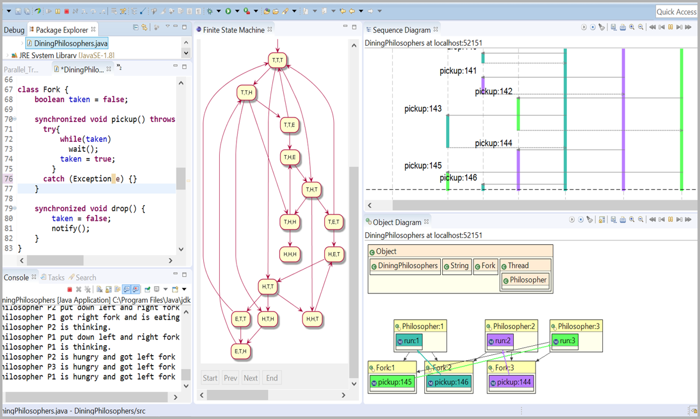 Jive java interactive visualization environment jive depicts both the runtime state and call history of a program in a visual manner the runtime state is visualized as an enhanced object diagram pooptronica