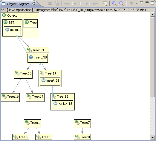 Jive tutorial beginning to debug with jive object diagram view ccuart Choice Image